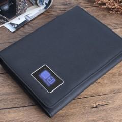 触摸灯移动电源三折页商务笔记本